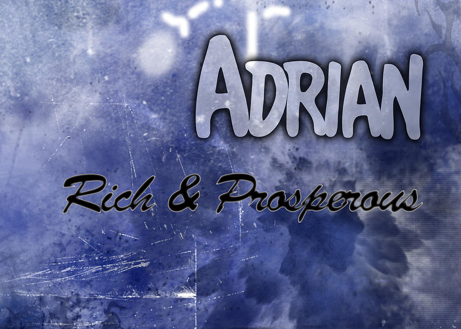 Adrian - Rich And Prosperous Painting