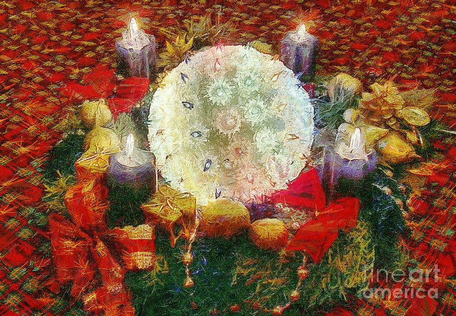 Advent  Painting  - Advent  Fine Art Print