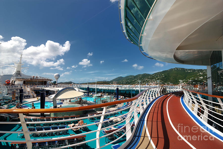 Adventure Of The Seas Jogging Track Photograph