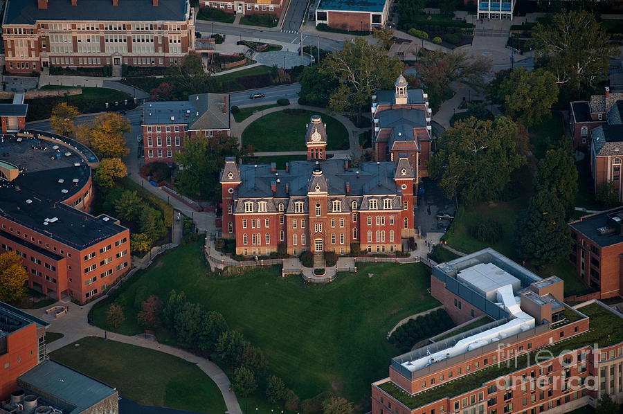 Aerial Of Woodburn Hall Photograph