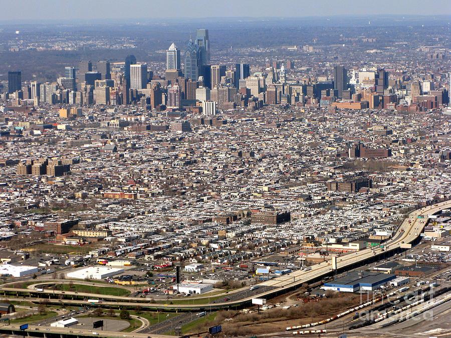 Aerial Philadelphia Photograph