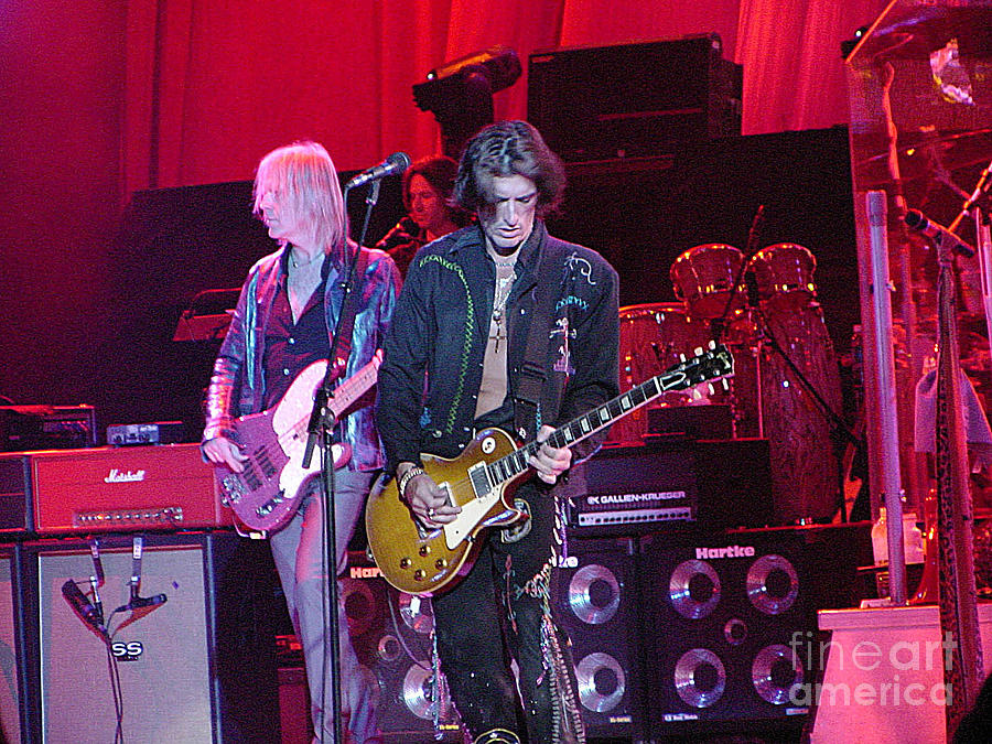 Aerosmith-joe Perry-00019 Photograph  - Aerosmith-joe Perry-00019 Fine Art Print