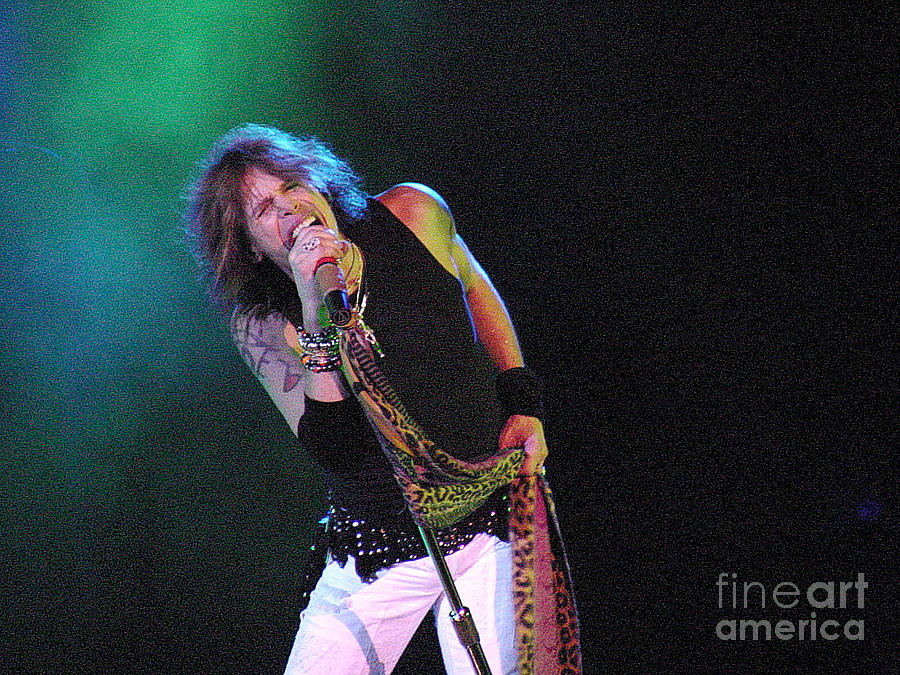 Aerosmith - Steven Tyler -dsc00139 Photograph
