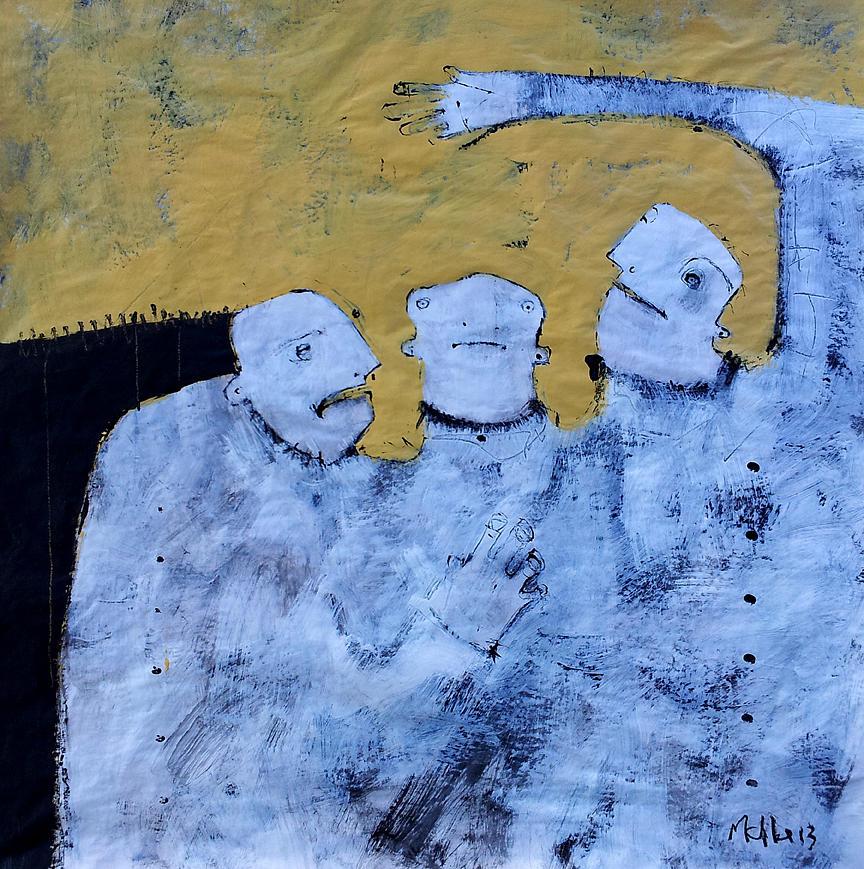 Aetas No 4 Painting