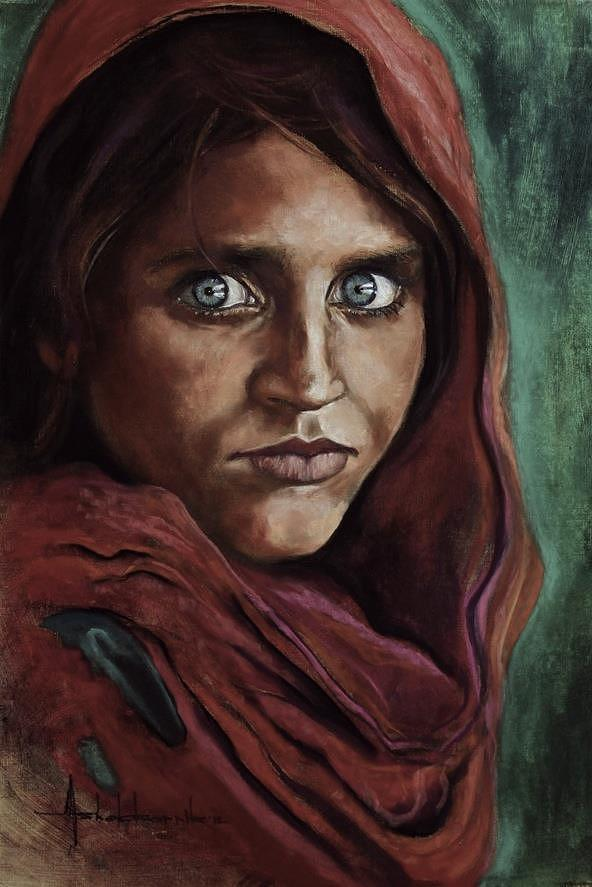The story behind the Afghan girl, the cover shot, photos, wallpapers, and more by National Geographic. hot girl