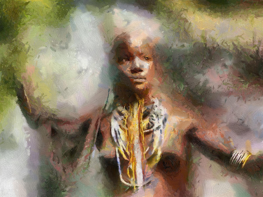 Africa Freedom Painting