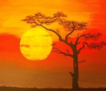 Africa Painting