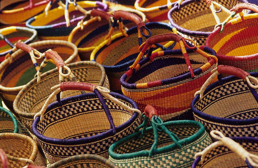 Baby Gift Basket South Africa : African baskets photograph by harold e mccray