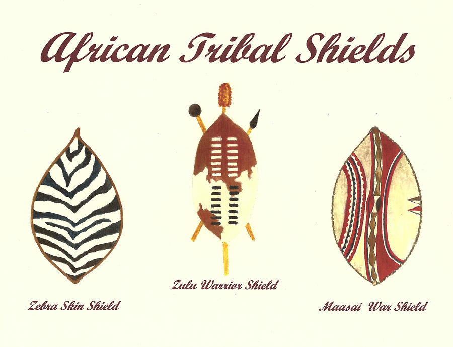 Zulu Shield Drawing – HD Wallpapers