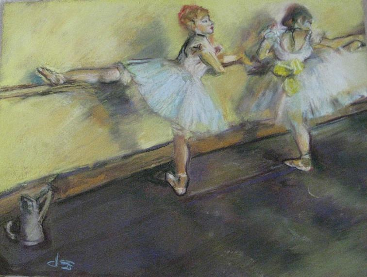 After Degas 2 Painting  - After Degas 2 Fine Art Print
