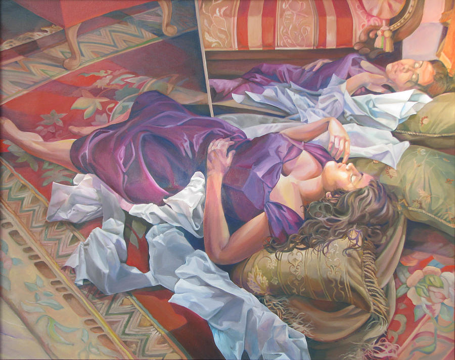 Figurative Painting - After It Is Gone by Julie Orsini Shakher