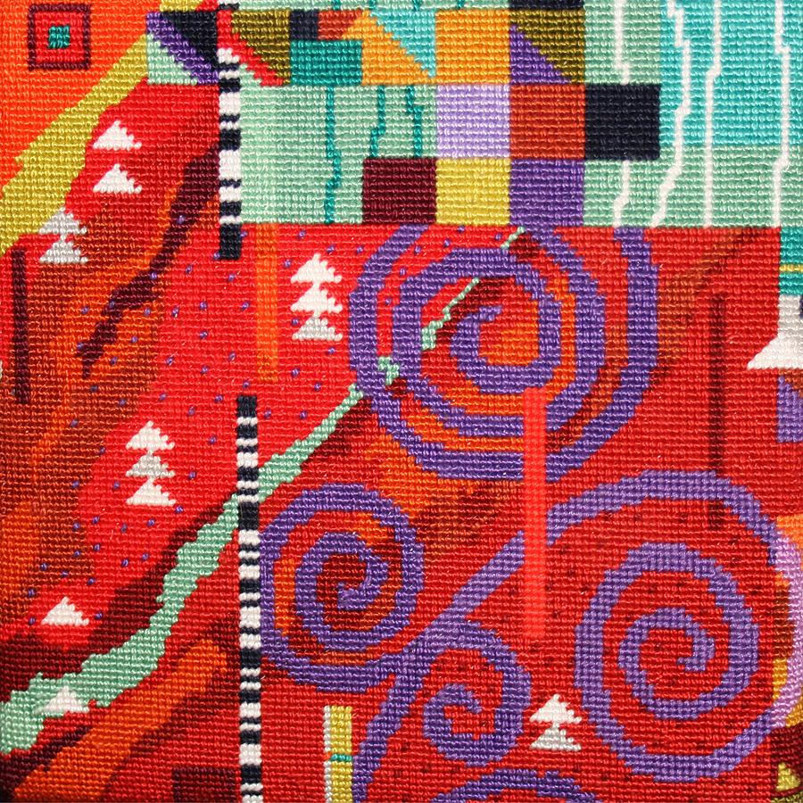 After Klimt Tapestry - Textile