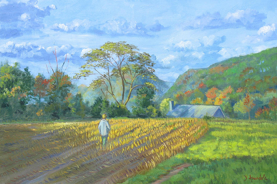 After The Harvest Painting
