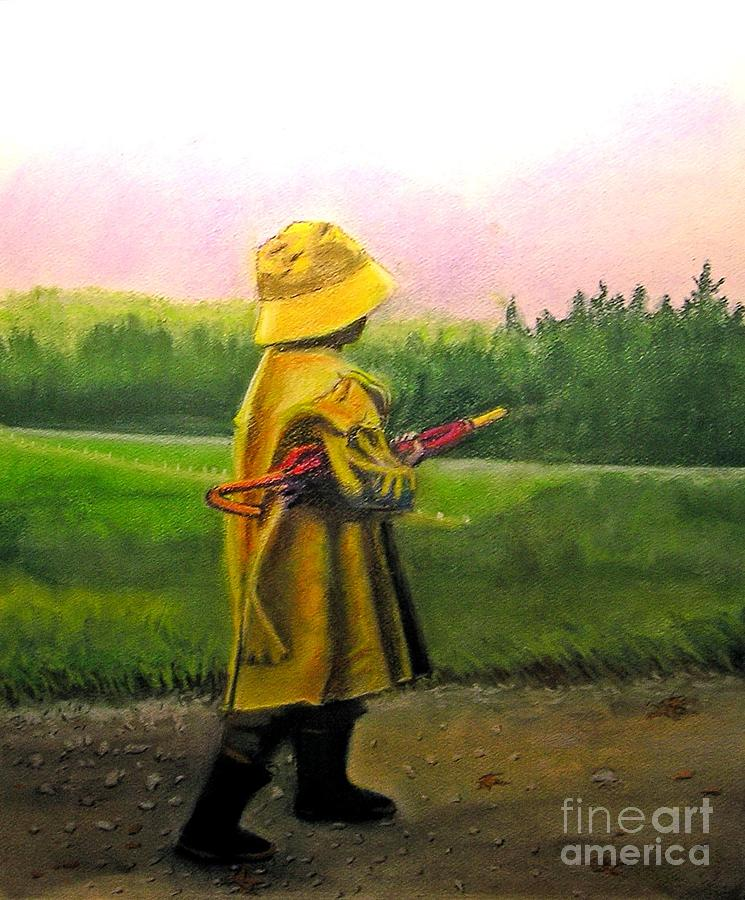 After The Rain Pastel  - After The Rain Fine Art Print