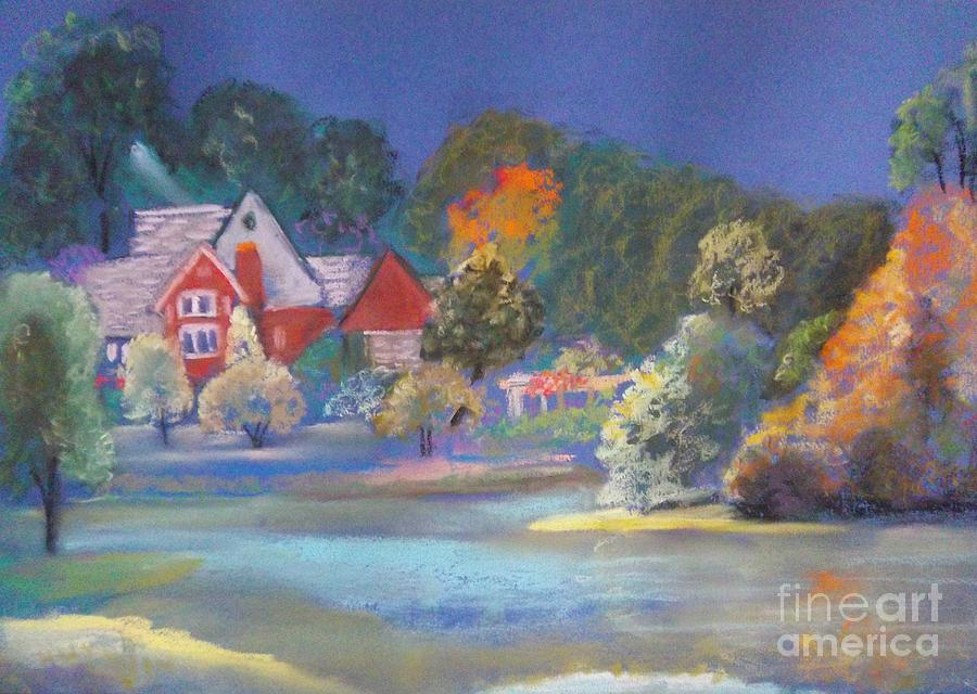 Autumn Painting - After The Rain  by Sandra McClure