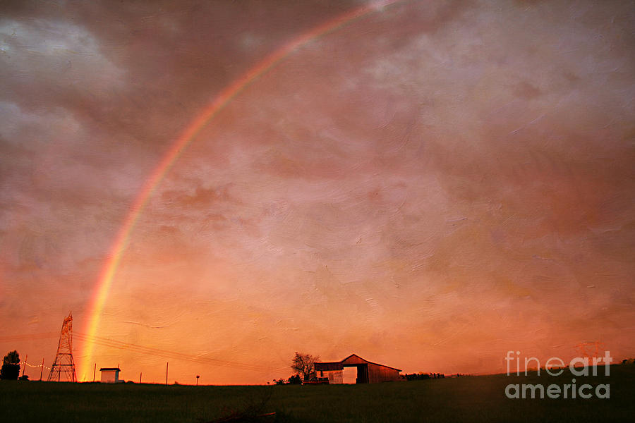 Rainbow Photograph - After The Storm by Darren Fisher