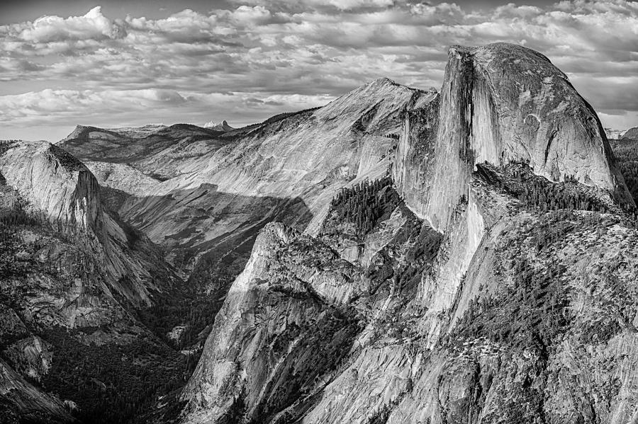 Yosemite Photograph - Afternoon At Half Dome by Harry H Hicklin