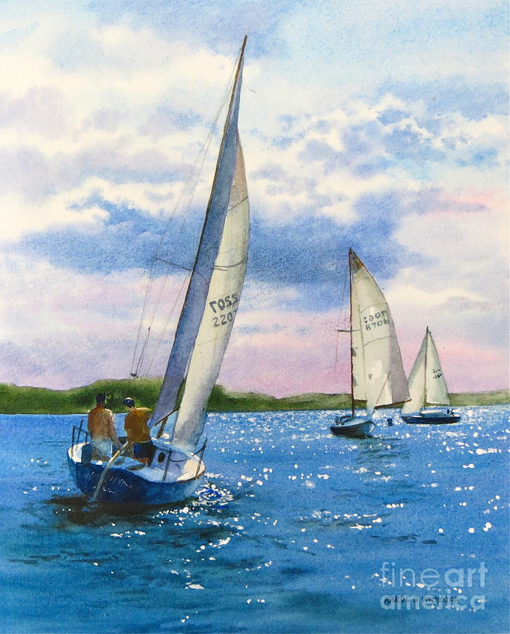 Afternoon Sail Painting