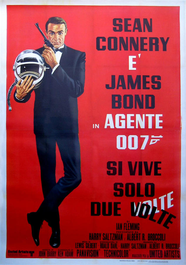Agente 007 Si Vive Solo Due Volte Digital Art