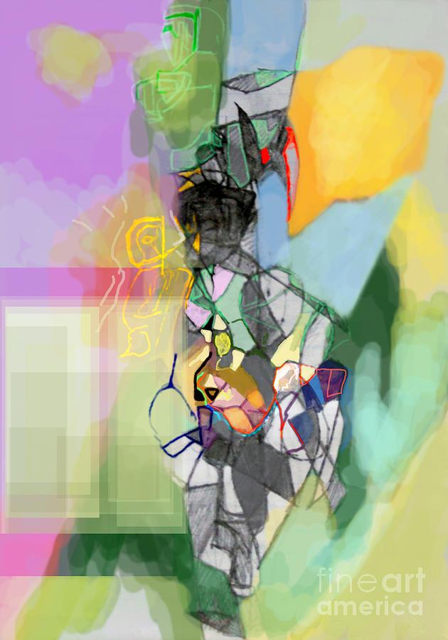 Torah Digital Art - Aging Process 11cf by David Baruch Wolk