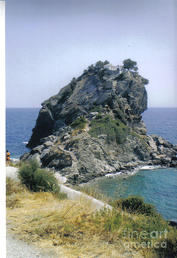 Agios Ioannis  Photograph - Agios Ioannis Sto Kastraki by Katerina Kostaki
