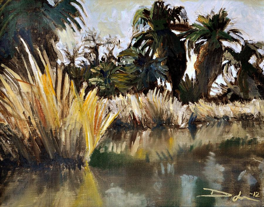 Agua Caliente Painting