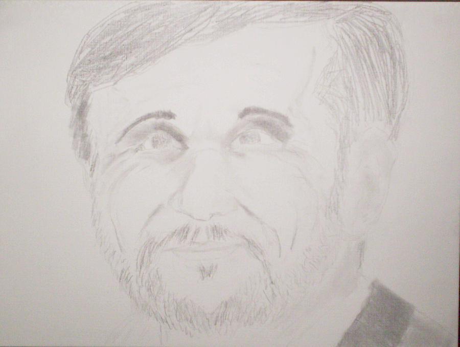 Ahmadinejad Drawing