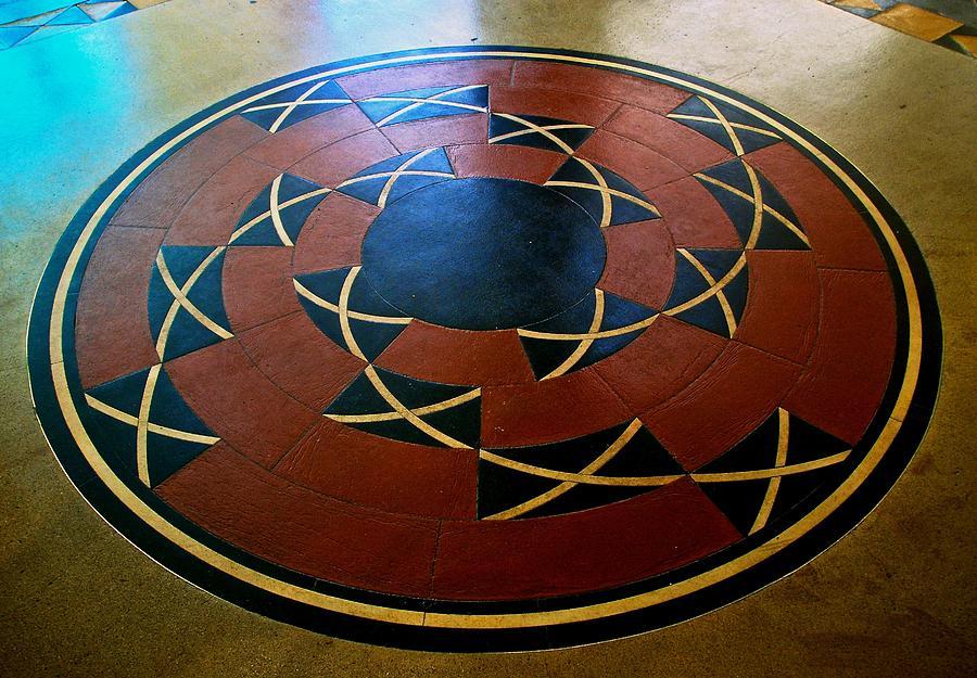 ahwahnee hotel floor medallion photograph by eric tressler ice cream s floor plan ahomeplan com