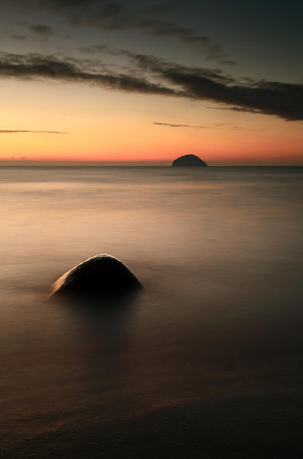Ailsa Craig Sunset Photograph