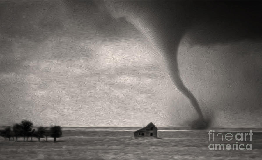 Aint It Grand The Winds Stop Blowing Painting  - Aint It Grand The Winds Stop Blowing Fine Art Print