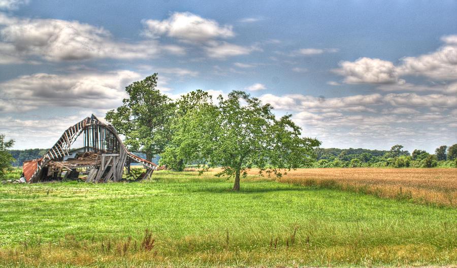 Barn Photograph - Air Conditioned Barn by Douglas Barnett