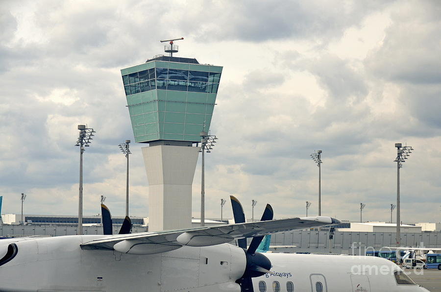 Air Traffic Control Tower Photograph  - Air Traffic Control Tower Fine Art Print