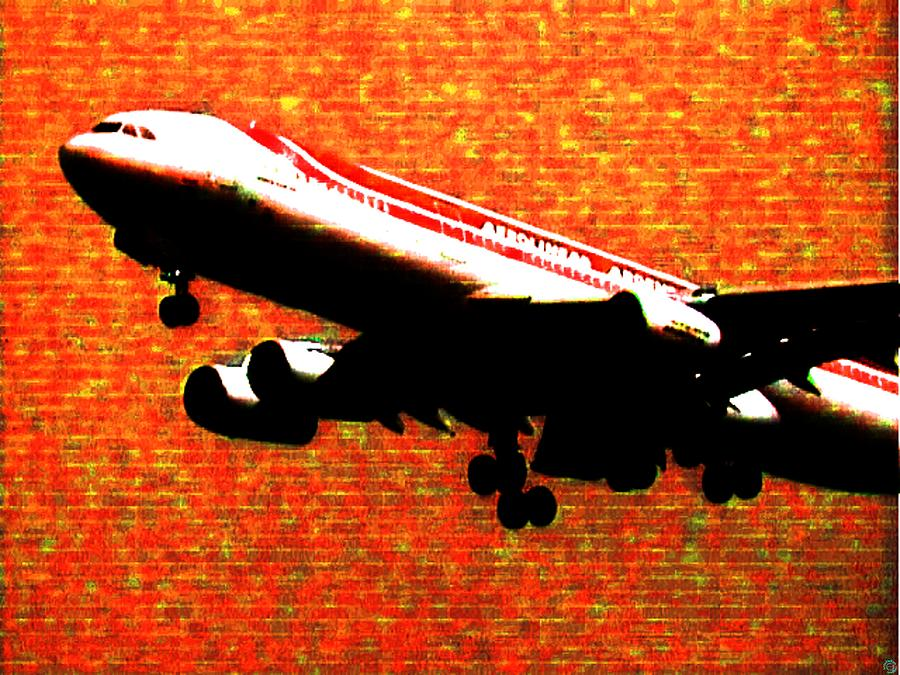 Airbus 340 Photograph