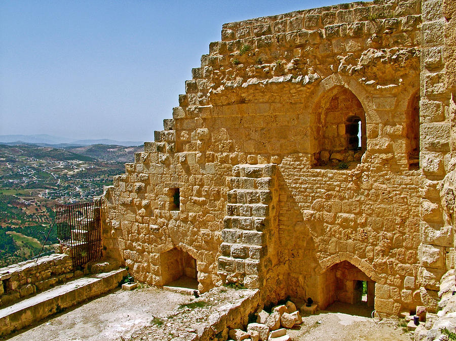 Ajlun Castle In Jordan Photograph