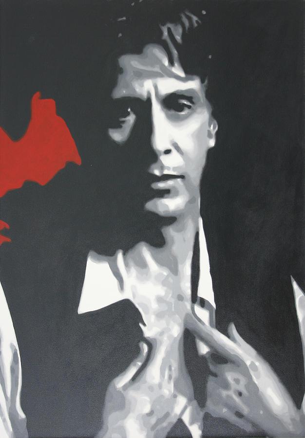 Al Pacino 2013 Painting