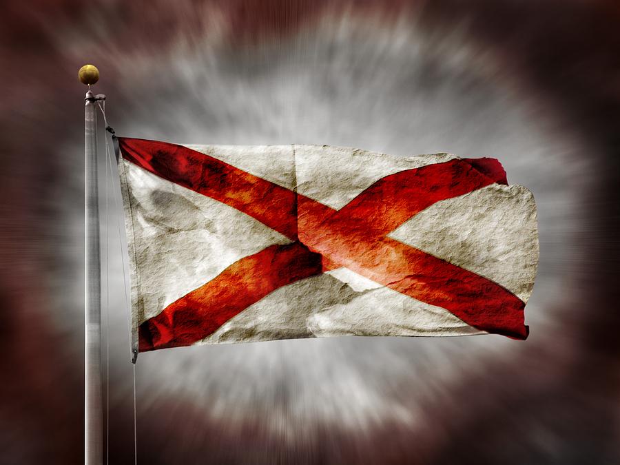 Alabama State Flag Photograph