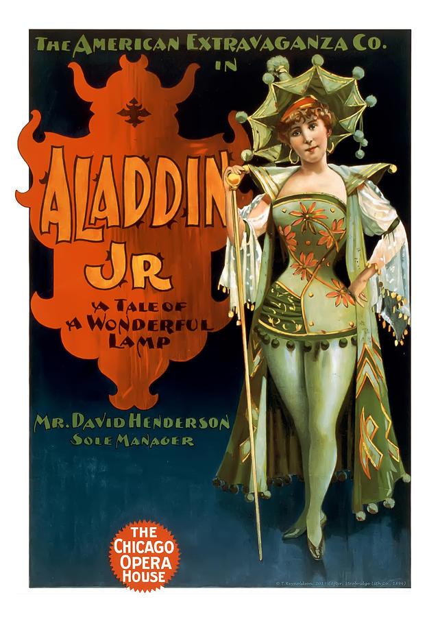 Aladdin Jr Jestor Painting