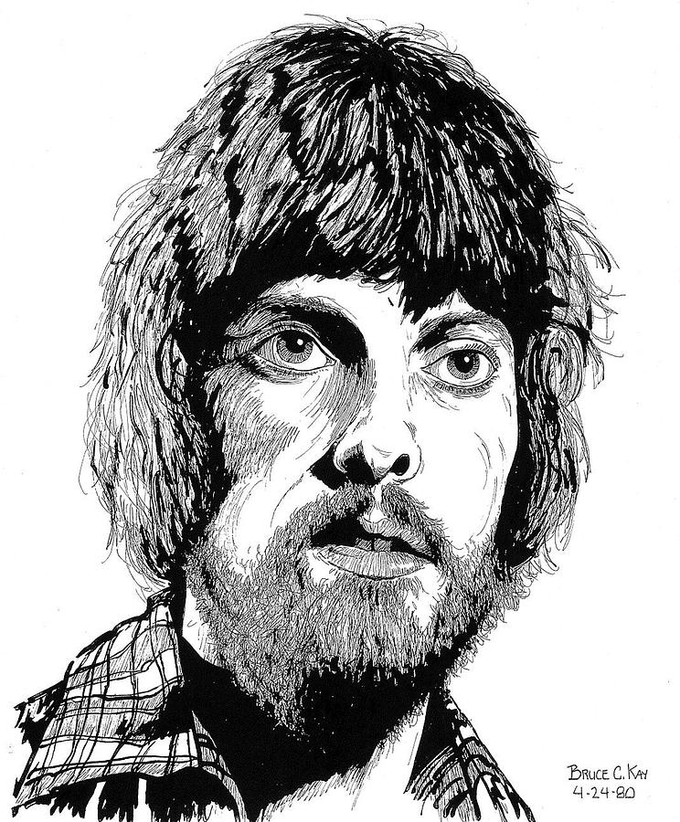 Alan Parsons Drawing  - Alan Parsons Fine Art Print