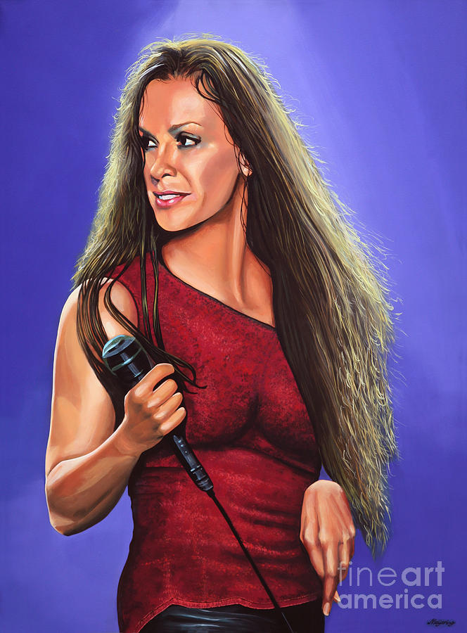 Alanis Morissette Ironic Painting