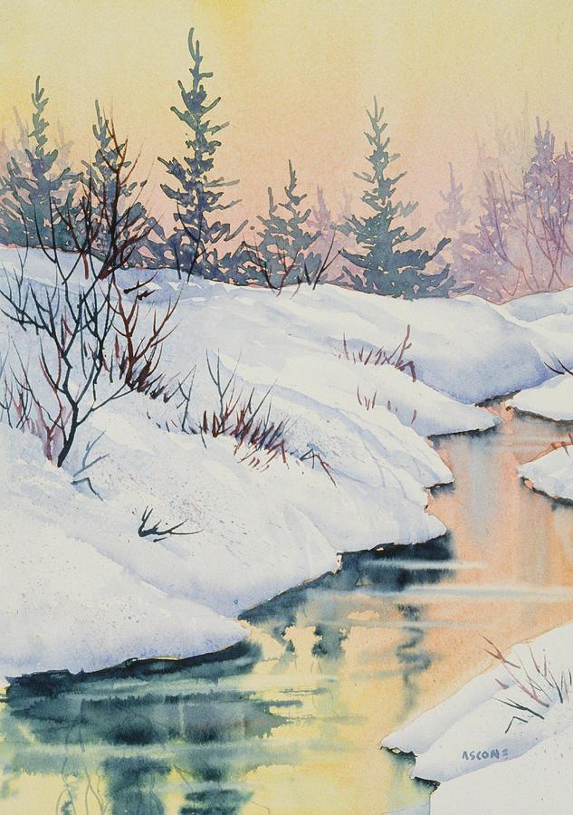 Alaska Gold Painting