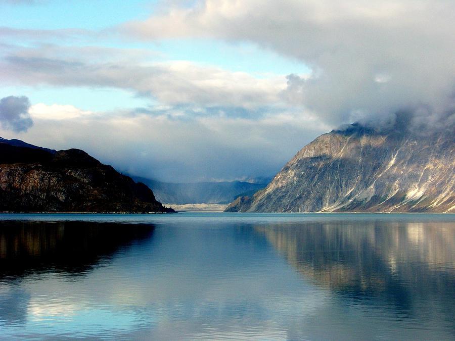 Seascapes Photograph - Alaskan Splendor by Karen Wiles