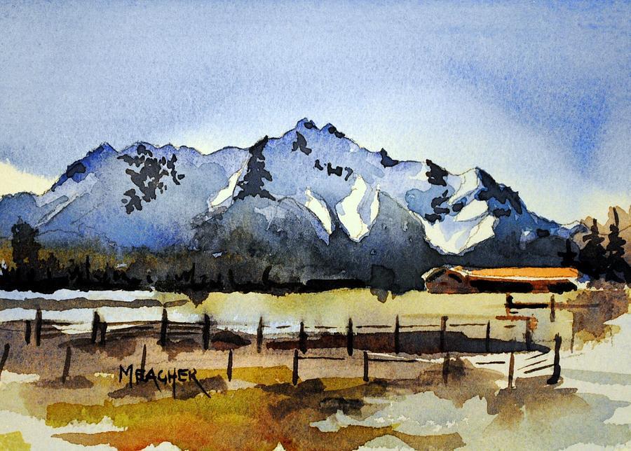 Alaskan Springtime Painting