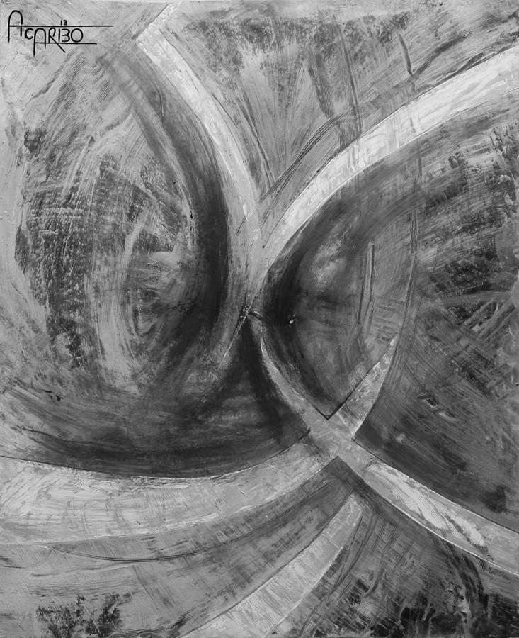Alazaboth Original Abstract Painting  Painting