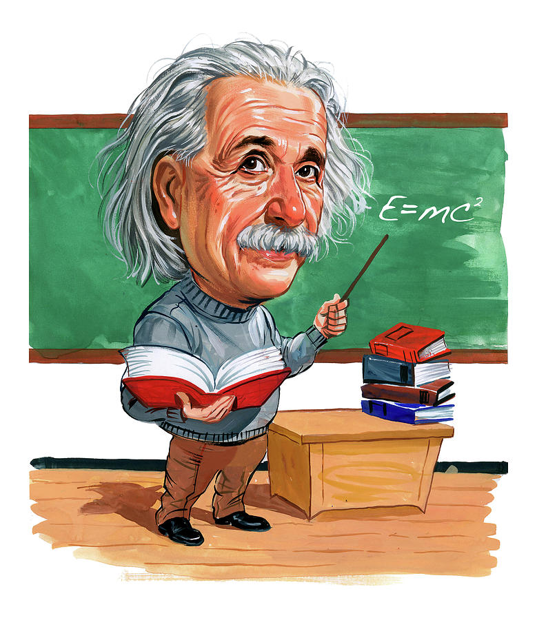 Albert Einstein Painting By Art
