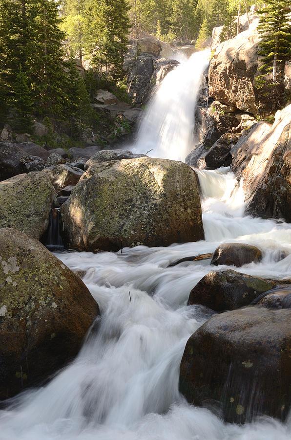 Alberta Falls Photograph