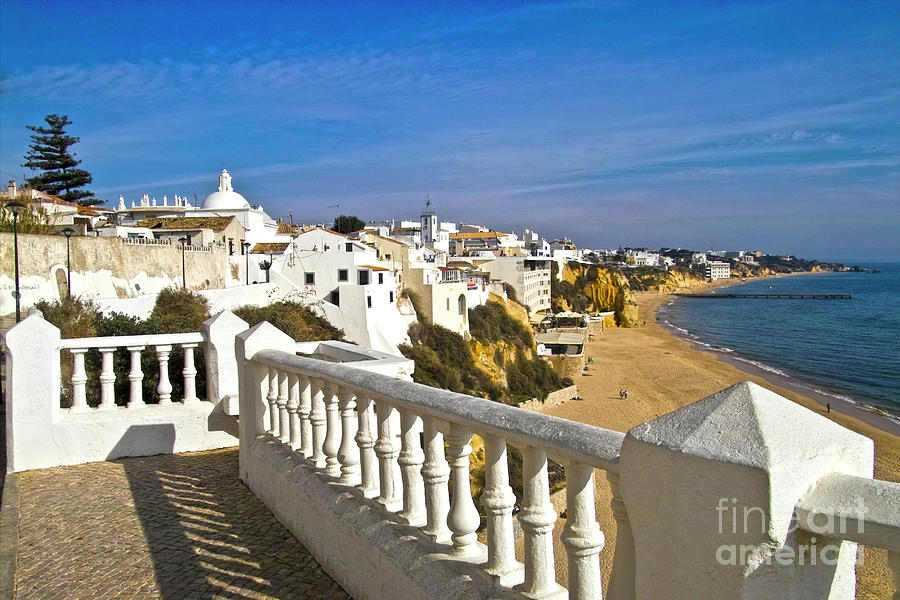 Albufeira Village By The Sea Photograph  - Albufeira Village By The Sea Fine Art Print