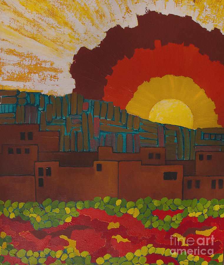 Albuquerque Nm Painting  - Albuquerque Nm Fine Art Print