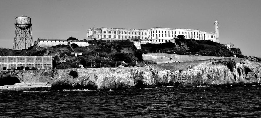 Alcatraz Photograph - Alcatraz Federal Prison by Benjamin Yeager