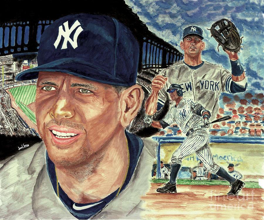 Alex Rodriquez Painting