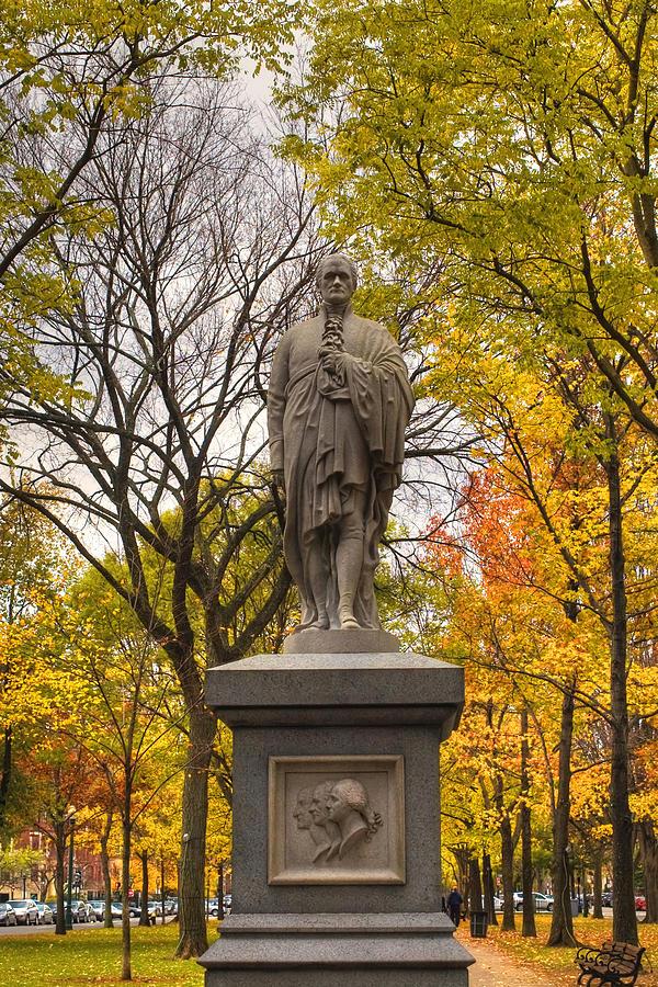 Alexander Hamilton Statue Photograph